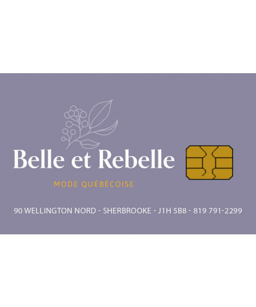 Belle et Rebelle boutique Sherbrooke