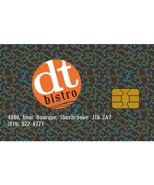 DT Bistro Sherbrooke - Carte-cadeau