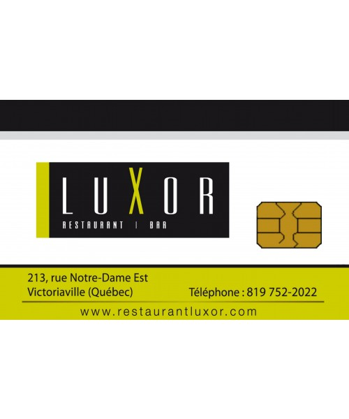 Restaurant Victoriaville le LuXor - Carte-cadeau