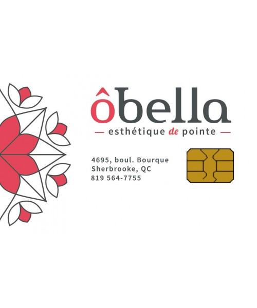 Obella esthétique Sherbrooke - Carte-cadeau