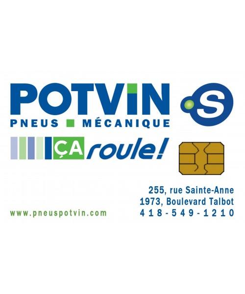 Potvin pneus et mécanique Chicoutimi - Carte-cadeau