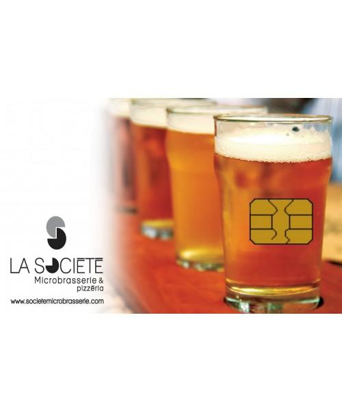 Restaurant St-Georges Société microbrasserie et pizzéria - carte-cadeau