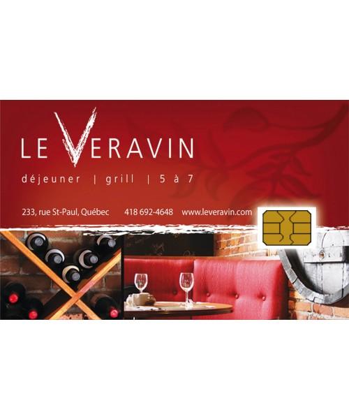 Restaurant Québec Veravin - Carte-cadeau