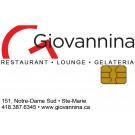 Restaurant Giovaninna Ste-Marie-de-Beauce - Carte-cadeau