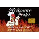 Carte-cadeau à rabais de la Rôtisserie Woody's à Nicolet