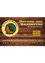 Microbrasserie le Refuge des Brasseurs - Carte-cadeau à rabais