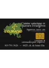 Eurasie Resto à Sherbrooke | Carte-cadeau à rabais