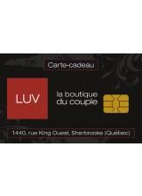 Boutique LUV Sherbrooke - Carte-cadeau à prix réduit