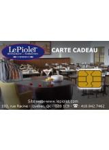 Restaurant Piolet Loretteville - Carte-cadeau